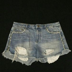 Anthropologie Free People Cut-offs Size 29